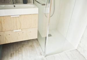 salle de bains rénovée à ramonville