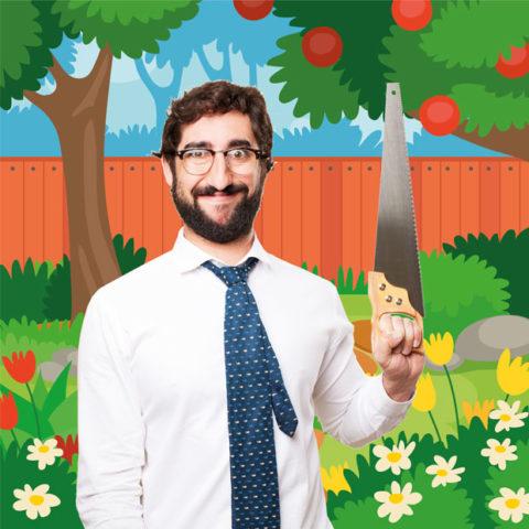 couper la branche du voisin