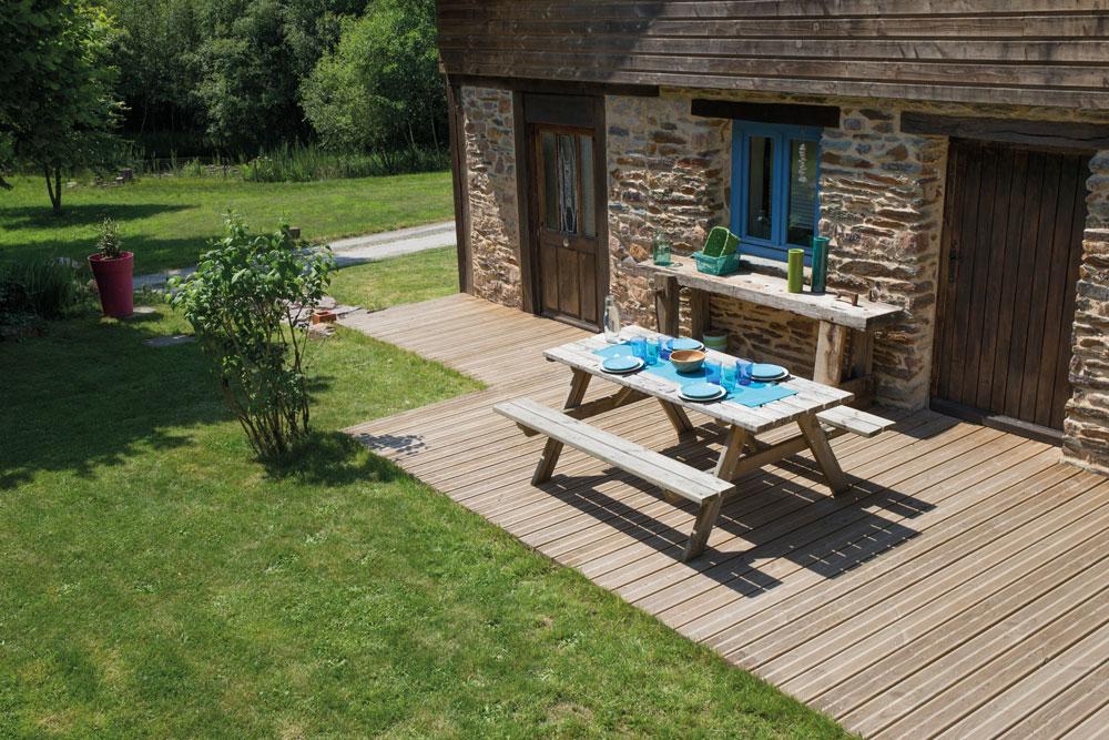 terrasse en bois 4mm3