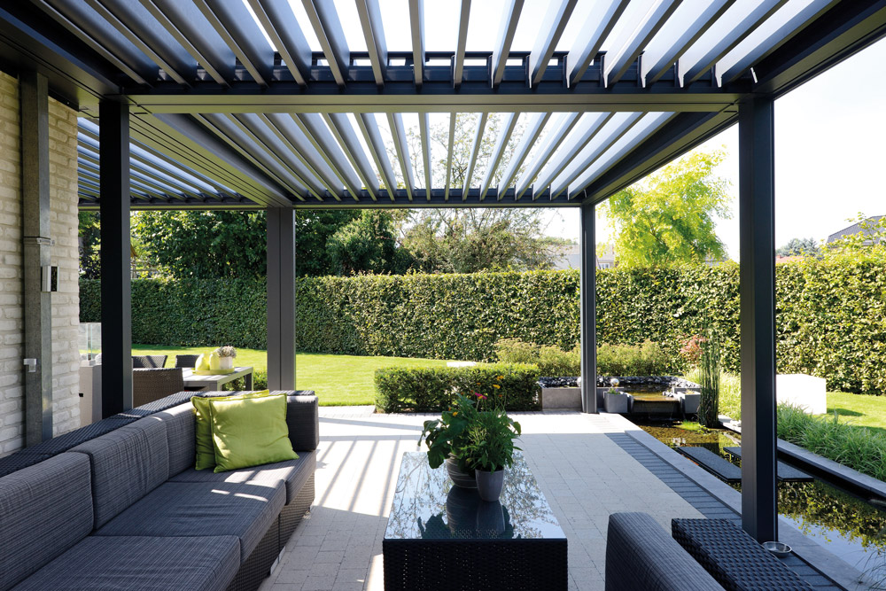 pergola bioclimatique tout savoir en 8 questions r ponses. Black Bedroom Furniture Sets. Home Design Ideas
