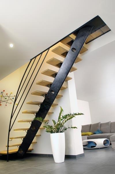 Escaliers bois et métal en région toulousaine - MA MAISON