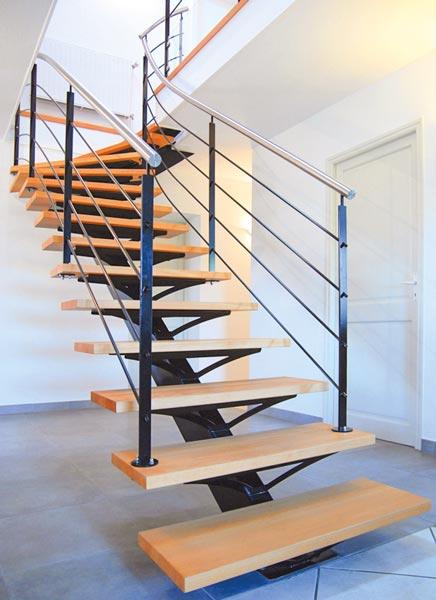escalier fer & tendance salvetat