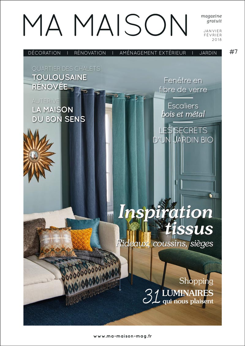 Ma maison magazine d coration r novation for Magazine deco maison