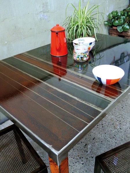 meubles métal toulouse camille b créations