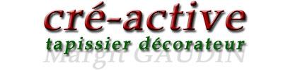 atelier cré active tapissier décorateur