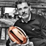 pierre armengaud ballon rugby en bois
