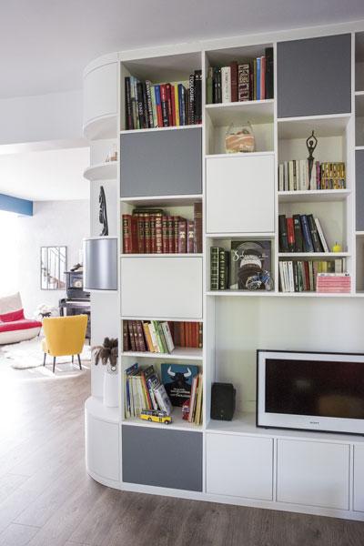 r novation entr e s jour tr s l gante la salvetat ma maison. Black Bedroom Furniture Sets. Home Design Ideas