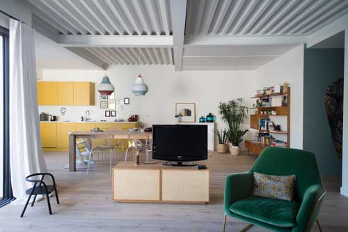 Villa Côte pavée Architecte Christine Clavère Toulouse