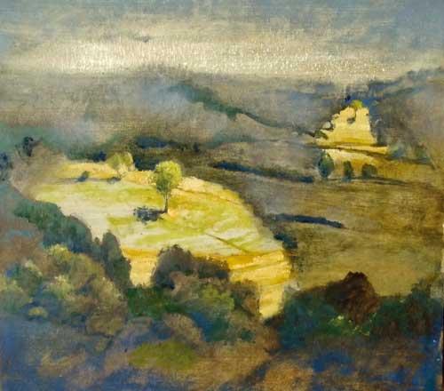 Jared Coffin Paysage Murel II