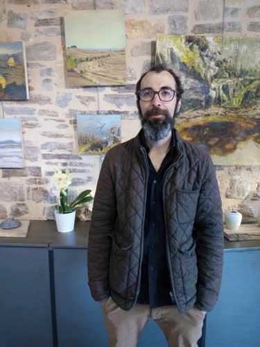 Jared Coffin Galerie Barbacane Artiste Cordes-sur-Ciel