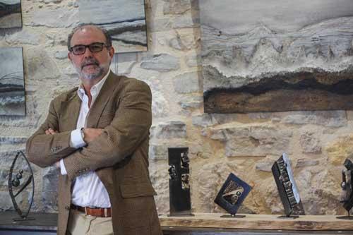 Didier Ricaud Galerie La Barbacane Cordes-sur-Ciel Jared Coffin Régis Minois