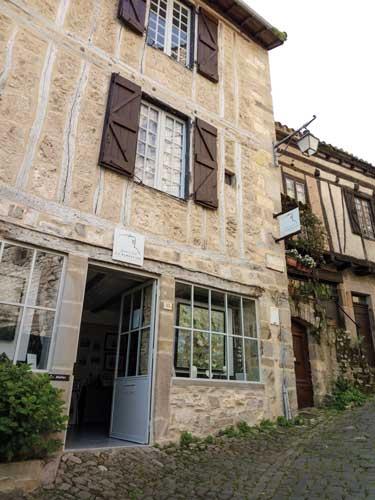 Galerie La Barbacane Cordes-sur-ciel Jared Coffin Régis Minois