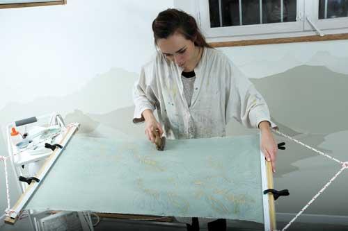 Laura Bénard Tissus Artisan d'art Toulouse