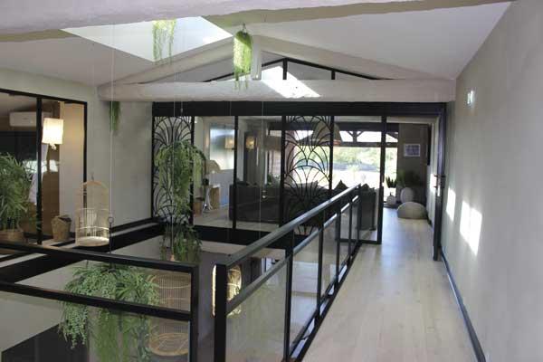 Vue intérieure de chez Coco au Mas Tolosa