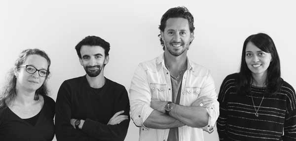 équipe d'Ar-Quo avec Patrice Cagnasso