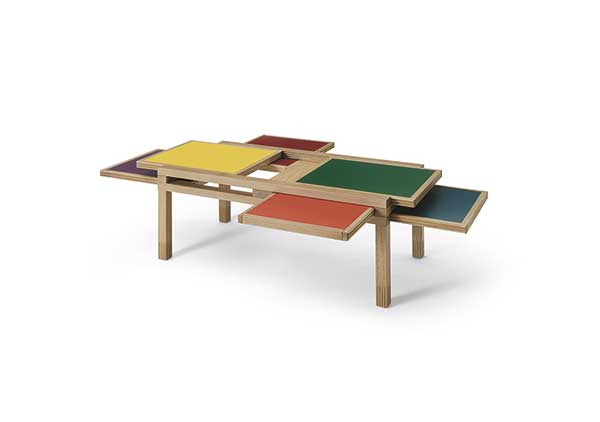 table basse Trait Culture Jeux