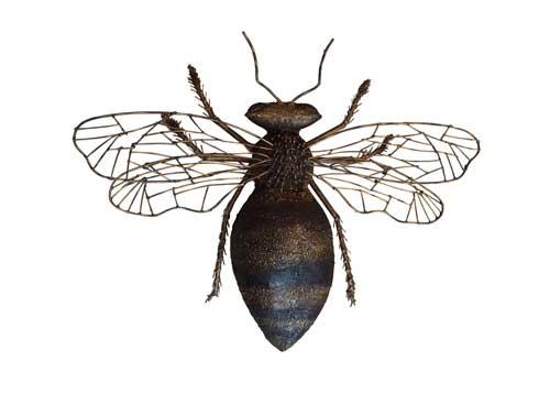 shopping changement d'echelle abeille geante