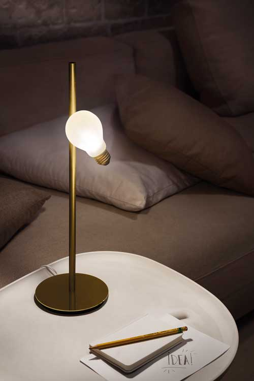 shopping effet levitation idea lamp
