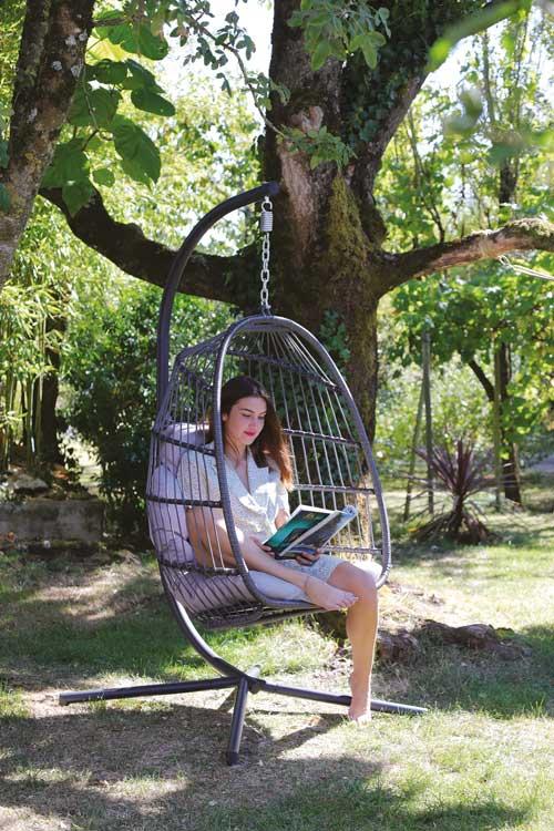 fauteuil suspendu kiwi arc en ciel toulouse