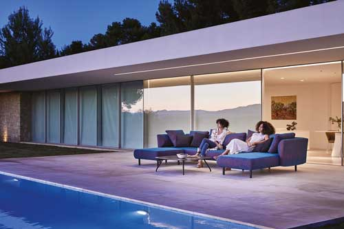 collection sofa modulaire salinas musola quadro complements toulouse balma
