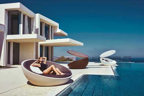 daybed banquette collection ULM vondom inextoo toulouse