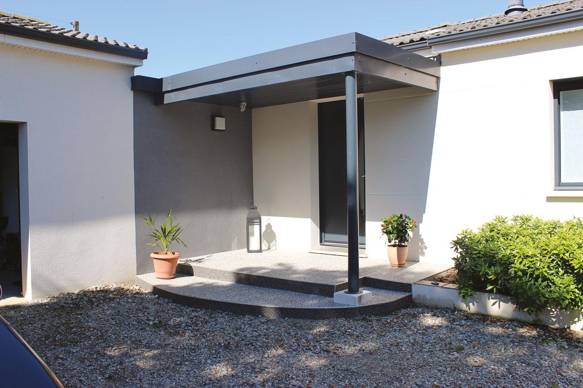 terrasse labarthe sur lèze occitanie création sol mur