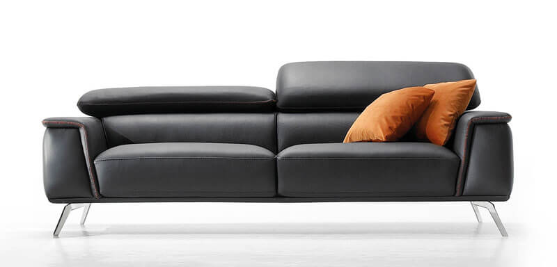 canapé design cuir tissu albi entrepot contemporain