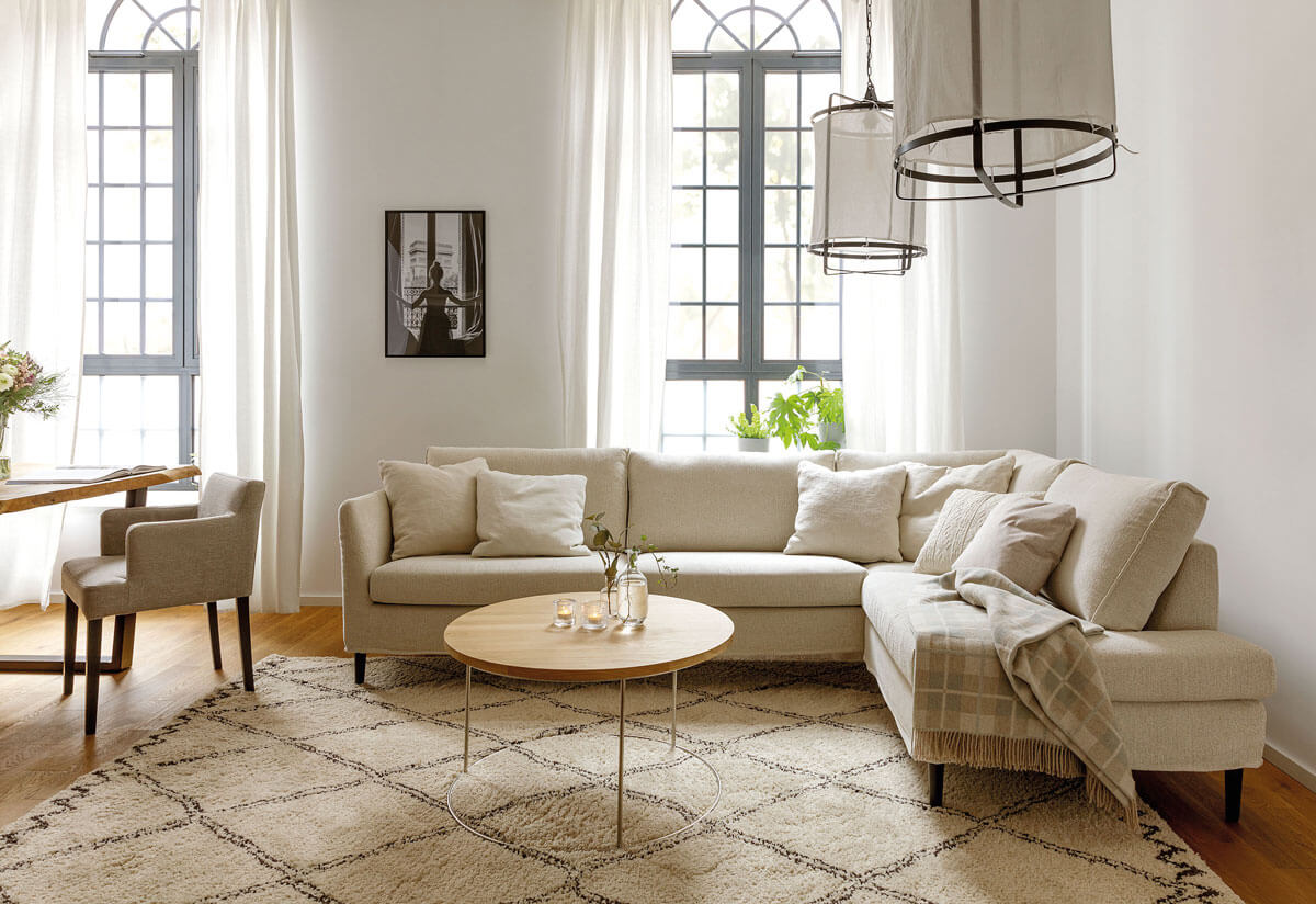 canapé moderne contemporain ghasel albi