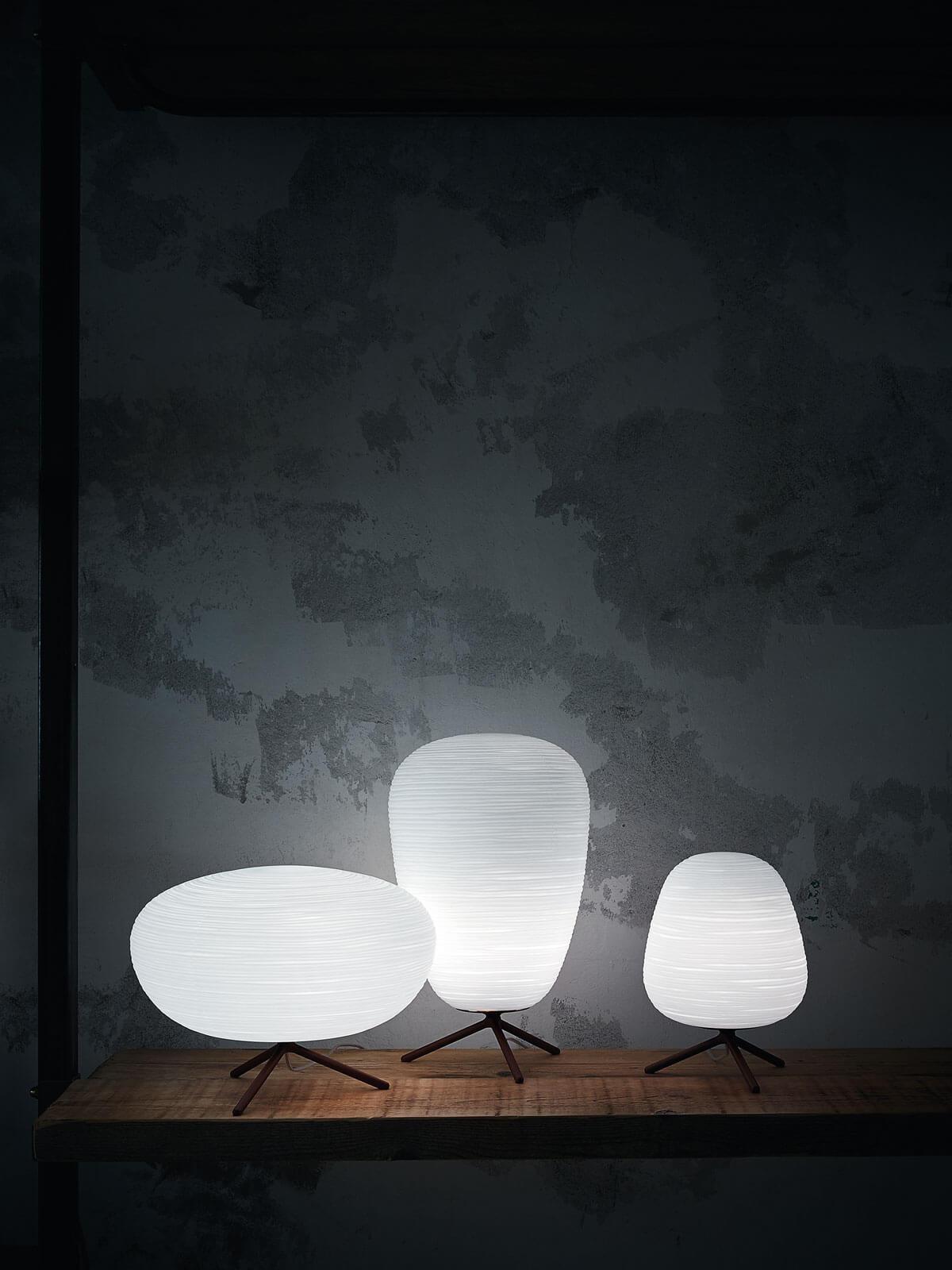 lampe formes différentes artisanal lumicenter albi