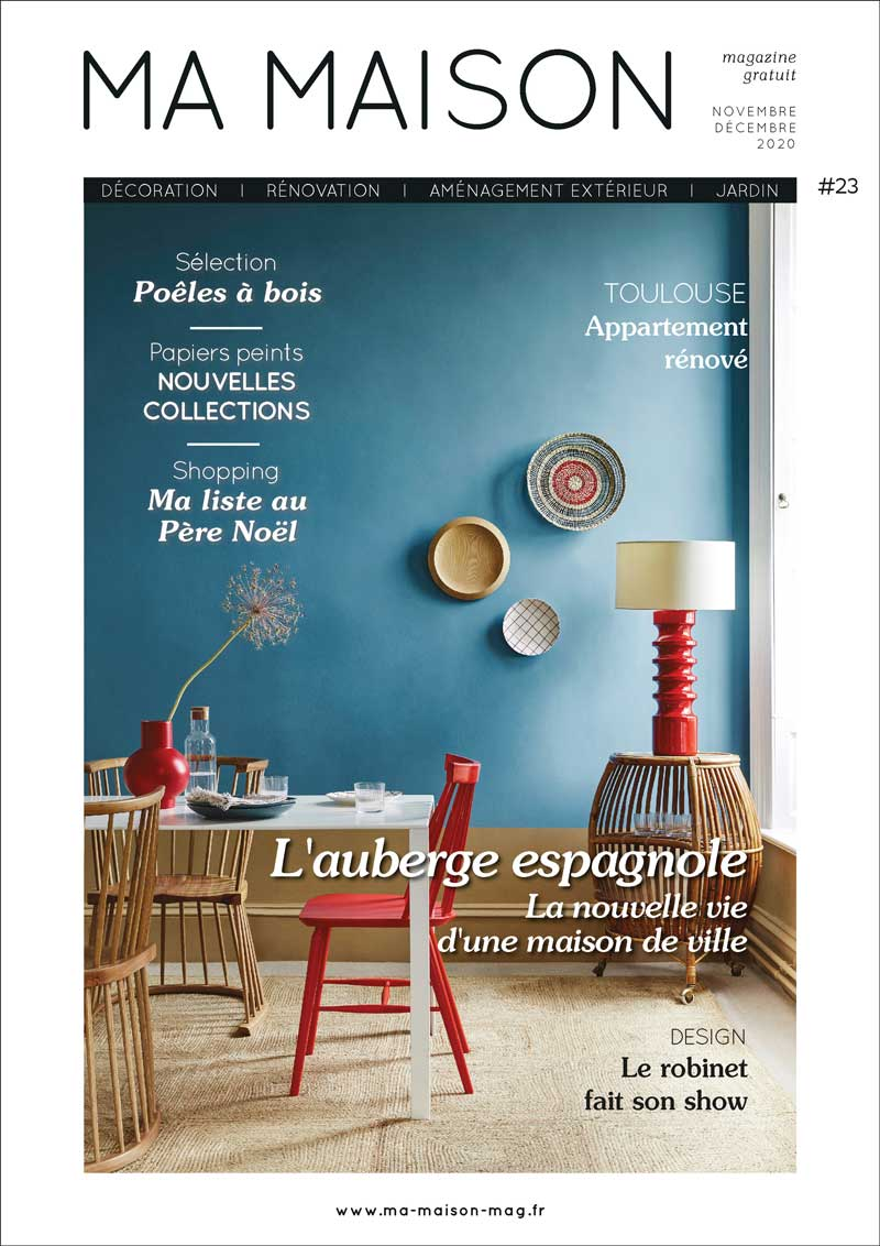 couverture ma maison magazine gratuit 23