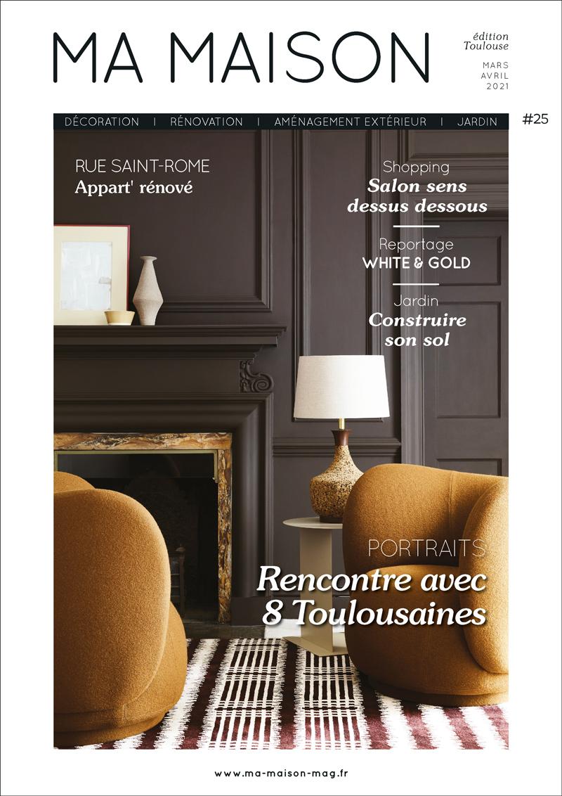 couverture ma maison magazine gratuit 25