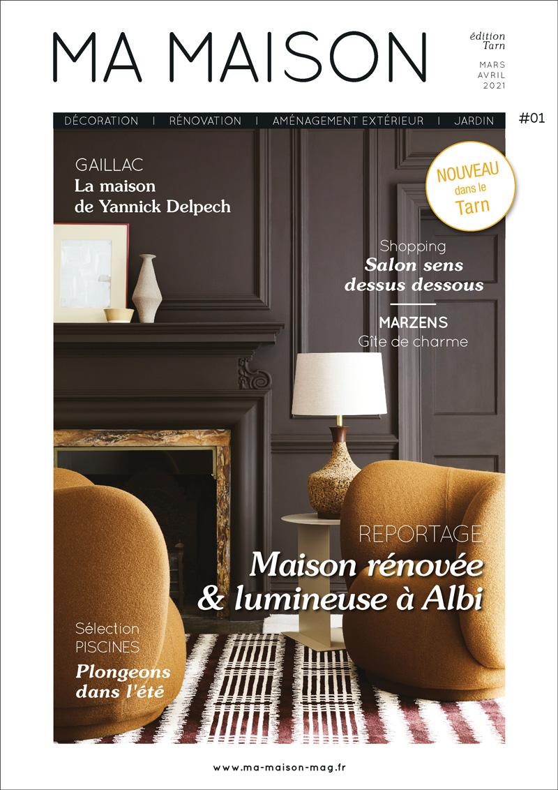 couverture du magazine MA MAISON Tarn 1