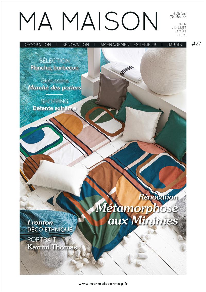 couverture ma maison toulouse magazine 27