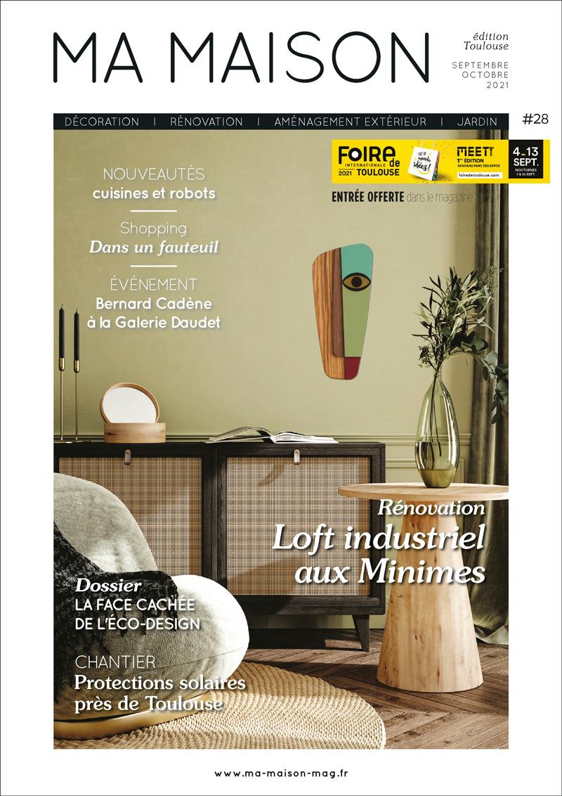 couverture ma maison toulouse magazine 28