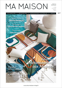 couverture magazine nouveau numéro MA MAISON
