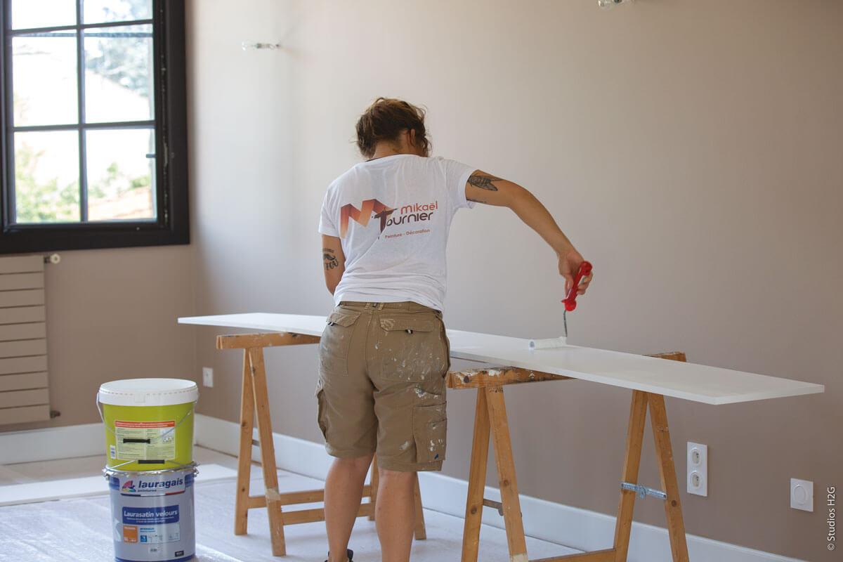 Mikael Tournier peinture rénovation tarn